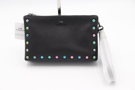 NWT Coach Lyla Black Leather Hologram Lacquer Rivets Crossbody Bag Purse... - £140.22 GBP