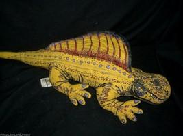 "14 ""vintage 1992 applause dinosaur yellow D. dino stuffed animal - $36.10"