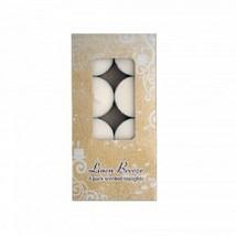 8-Pack Linen Breeze Scented Tea Lights Candles - $5.24