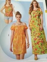Burda Sewing Pattern 6791 Ladies Misses Dress Shirt Size 6-18 New - $12.67