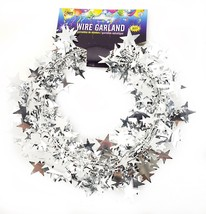 25 Foot Wire Garland - Silver (12 pcs) - $22.81