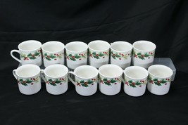 Target Home Xmas Charm Holly Berry Cups Lot of 12 - $58.79