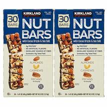 Kirkland Signature Nut Bars, 1.41 oz, 30 ct X 2 Pack ( 60 Total ) - $58.20