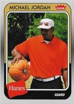 Michael Jordan Fleer Hanes 2019 #MJ-25 Chicago Bulls Washington Wizards - $1.00