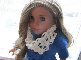 Handmade Crochet Cowl/Infinity Scarf for American Girl/18 Inch Doll - $3.25