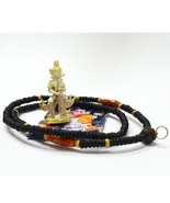 Thai Amulet Necklace  Tow Wessuwan Giant Kuvera Rasun Sedthee Strong and... - $68.88