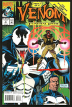 Venom #3 Funeral Pyre 1993 Marvel Comics Potts/Lyle/Rubinsten VF+/NM Punisher - $15.00