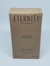 Calvin Klein Eternity Aqua 3.4 Men EDT. 2014 Edition Tester - $27.77