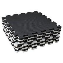 10 Piece Eva Foam Puzzle Exercise Mat Interlocking Floor Tiles White and... - $19.99
