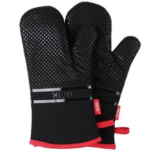 Oven Gloves Cooking Gloves Anti-skid BBQ Kitchen Gloves with Silicone New - $21.75