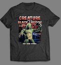 Vintage Creature From The Black Lagoon Oldskool Art* T-SHIRT *Full Front* - $19.79+