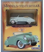 Matchbox MODELS OF YESTERYEAR 50 Years 1936 LINCOLN ZEPHYR 1:43 NIB Y-64/b - $9.00