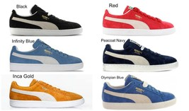 PUMA SUEDE CLASSIC MEN SNEAKERS LIGHTWEIGHT CASUAL FASHIONABLE ATHLETIC ... - $57.62