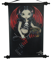 JASMINE GRIFFITH MY PIRATE FAIRY POLYURETHANE WOODEN WALL SCROLL - €17,61 EUR