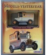 Matchbox MODELS OF YESTERYEAR 50 Years 1912 FORD MODEL T VAN 1:43 NIB - $11.99