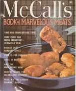 McCall's Book of Marvelous Meats 1978 Vintage Cookbook M6 Ralph Creasman - $5.93