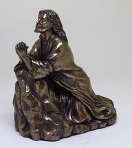 Jesus Praying in The Garden To His Father Religious Statue Figurine Insp... - $38.00
