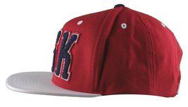 DGK Dirty Ghetto Kids Mens Red White Navy Graduate Snapback Baseball Hat NWT image 5