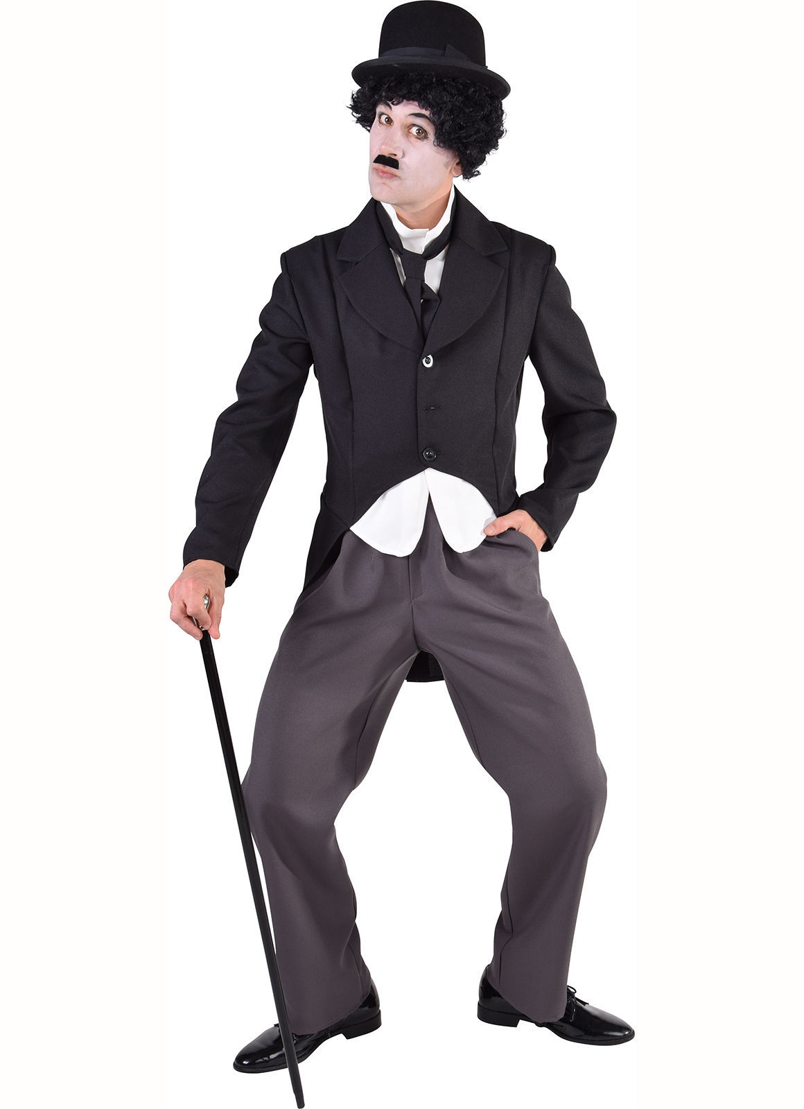 Charlie Chaplin Costume - XS - XXL