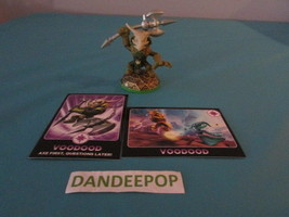 Skylanders Figure First Edition Voodood W1129 w/ cards Activision video ... - $7.67