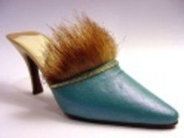 Seduction in Teal Limited Edition Exclusive Faux Fur Accent Just the Rig... - $29.99