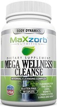 Mega Wellness Internal Cleanse Cleansing Complex – Natural Herbal Detox Cleanse