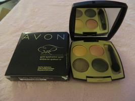 Avon 24K Gold Eye Shadow Quad Golden Splendor Rare Retired Free Shipping - $4.99