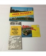 Lot Thousand 1000 Islands NY Fold Out Postcards Picture Guide Book Broch... - $10.15
