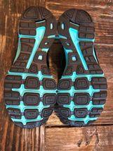 Nike Reax Rocket 2 Running Shoes 454175 004 Black Aqua Womens Size 8.5 image 8