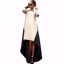 Y dress for less maxi dress black and beige assymetrical women maxi dress 1424672981023 thumb200