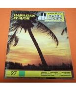 Hawaiian Flavor Organ Piano Guitar Music Book 47P  - $7.00