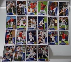 2012 Topps Series 1 & 2 Atlanta Braves Team Set of 22 Baseball Cards - $6.00
