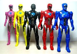 5pcs Power Rangers Movie Action Figure Jason Kimberly Play set Toy W/ Li... - $19.82