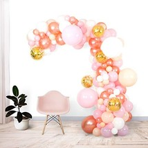 Shimmer and Confetti 135 Pack 16 Foot Premium Pink, Peach, White, Rose Gold, Gol - $38.15