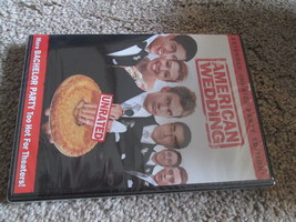 American Wedding DVD Extended Unrated - $6.99