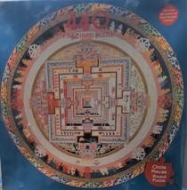 "F.X. Schmid 1994 Puzzle 440 Piece Wheel of Time Sand Mandala 20 1/2"" Circle  New - $15.00"