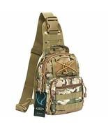 Outdoor Tactical Bag Backpack, Military Sport Bag Pack Sling Shoulder - $33.65+