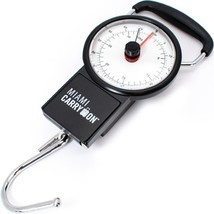 Miami CarryOn Mechanical Luggage Scale / Fishing Scale, Tape Measure 75 ... - $7.91