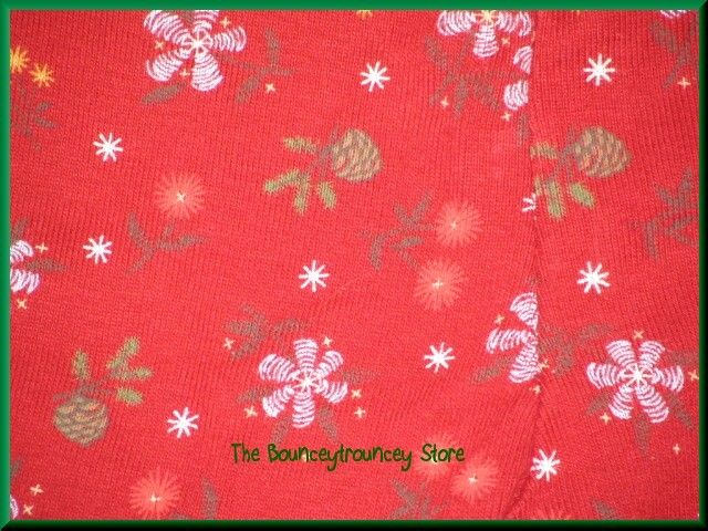 NWT Gymboree Mountain Cabin RED FLORAL Leggings 12-18 M