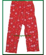 NWT Gymboree Mountain Cabin RED FLORAL Leggings 12-18 M - $8.79