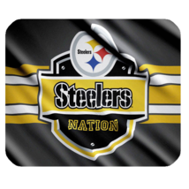Mouse Pads Professional American Football Pittsburgh Steelers Anime Mousepads - $6.00