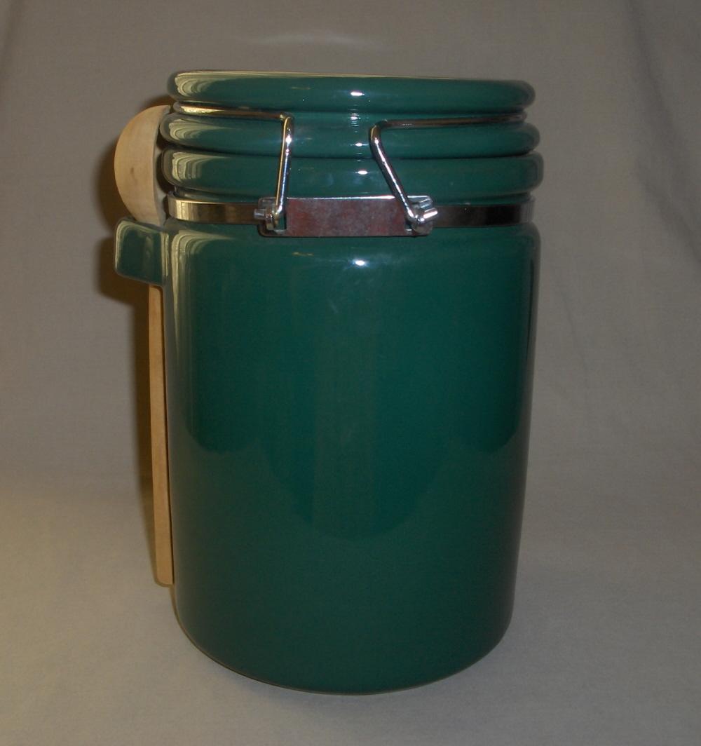 Green Kitchen Canisters1 Qt Fiestaware Ceramic