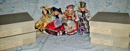 Vintage 8 Corrine's Brides of All Nations Dolls in Box, 50's-60's - $60.00