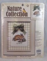 Leisure Arts Nature Collection Hare Counted Cross Stitch Kit New - $18.80