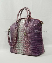 NWT Brahmin Large Duxbury Satchel/Shoulder Bag in Julep Melbourne - $269.00