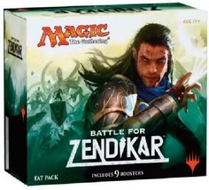 Magic the Gathering (MTG) Battle for Zendikar - Fat Pack (Includes 9 Booster and - $136.89