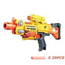 Nerf Gun N Strike Electronic Toy Gun Airsoft Pistol 20pcs Soft Bullets S... - $59.39