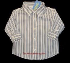 Nwt Gymboree Boys Holiday Classics Stripe Shirt 6 12 M - $14.00