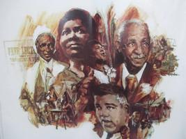 Coca-Cola Calvin Jones 1974 Black History American Leaders Print Rough Condition - $19.80