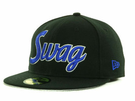 New Era 59FIFTY Custom Fitted Swag Cap Hat  Assorted Sizes - $24.95